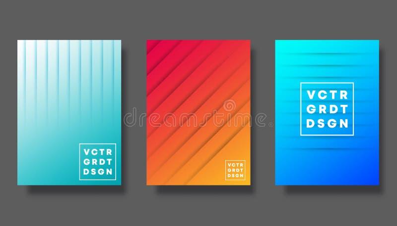 Placez de la couverture color?e de gradient pour l'insecte, l'affiche, la brochure, la typographie et d'autres produits de impres illustration stock