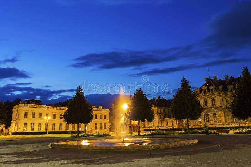 Placez De Verdun à Grenoble, France image stock