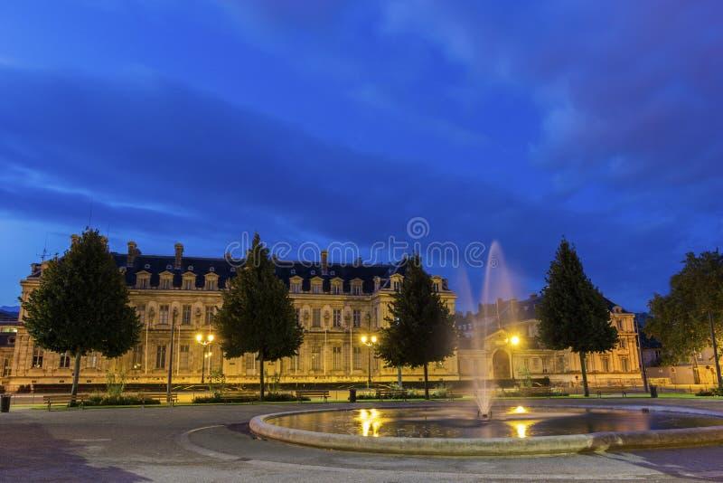 Placez De Verdun à Grenoble, France image libre de droits