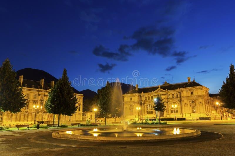 Placez De Verdun à Grenoble, France photo stock