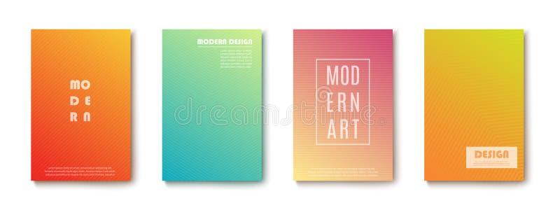 Placez des bannières abstraites de conception moderne sur le fond transparent Vecteur illustration de vecteur