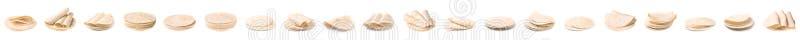 Placez des tortillas d?licieuses Pain sans levain image stock