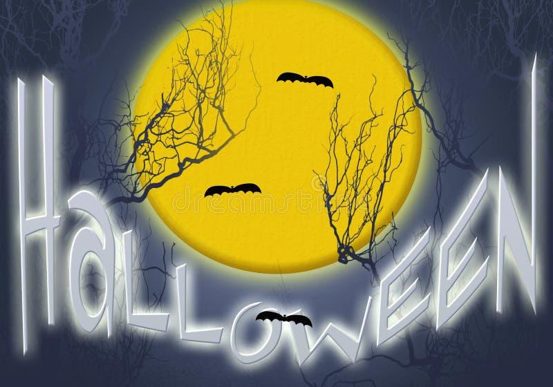 Placez Halloween illustration de vecteur