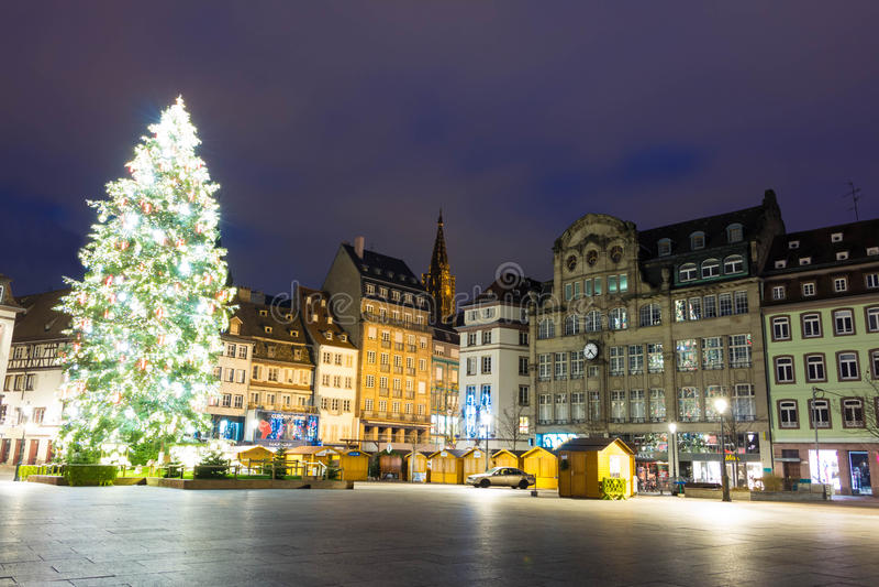 Placez Kleber, Strasbourg photos stock