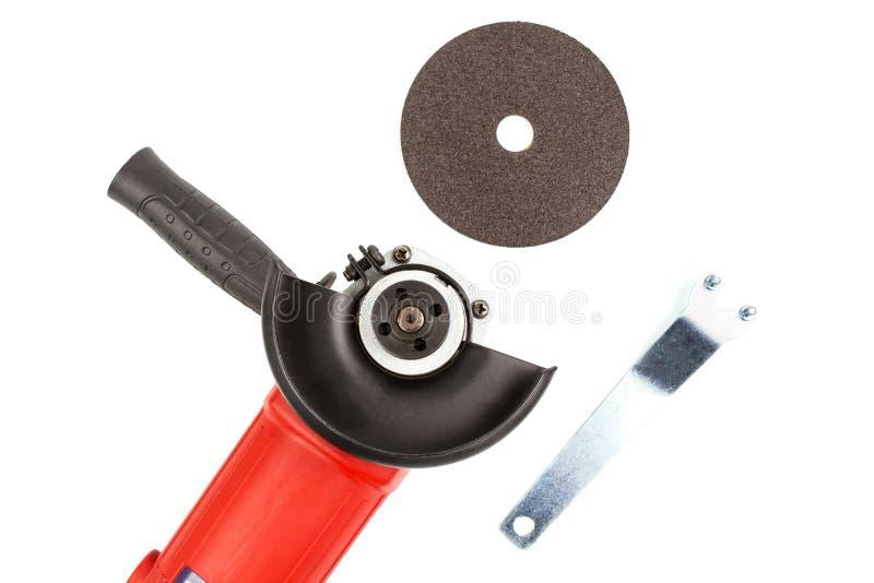 Placez la machine-outil rectifiant et coupant le disque photos stock