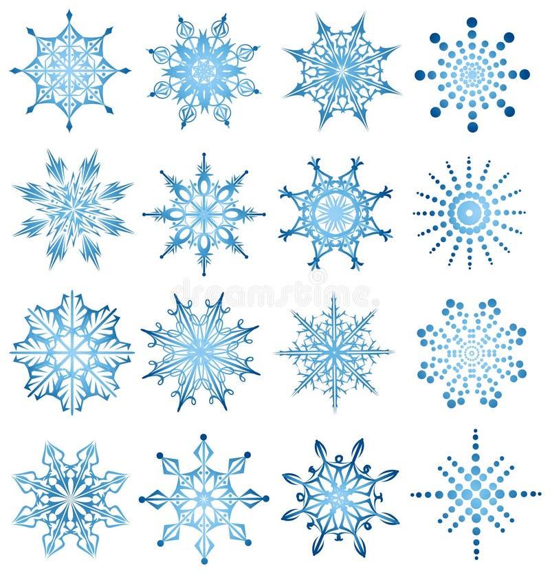 placez le flocon de neige illustration stock