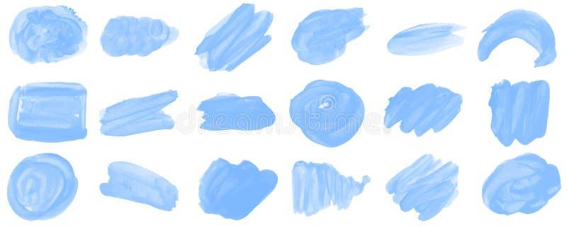 Placez le fond d'aquarelle pour le texte image stock