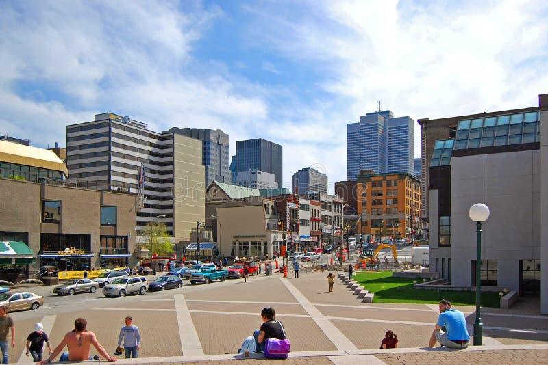 Placez les arts de DES, Montréal photos stock