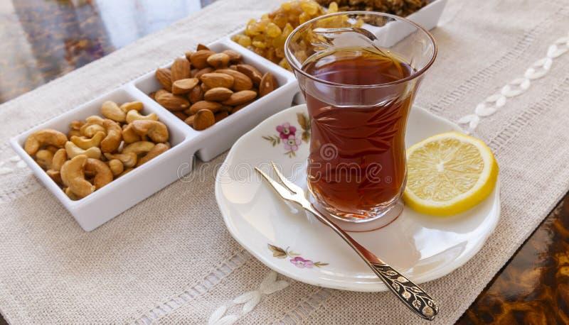 Placez pour le thé en Azerbaïdjan images stock
