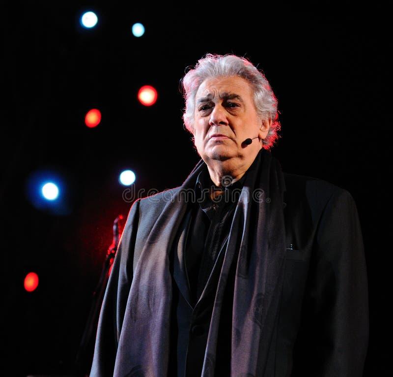 Placido Domingo zdjęcia stock