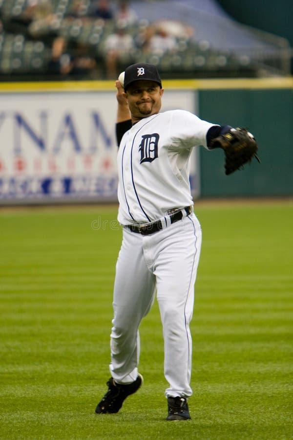 Placido Polanco de los Detroit Tigers foto de archivo
