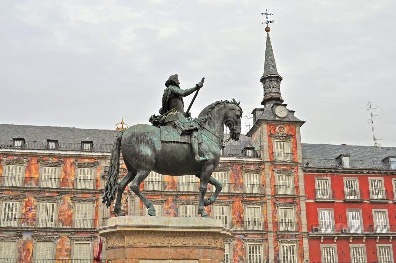 Placu Mayor zdjęcia royalty free