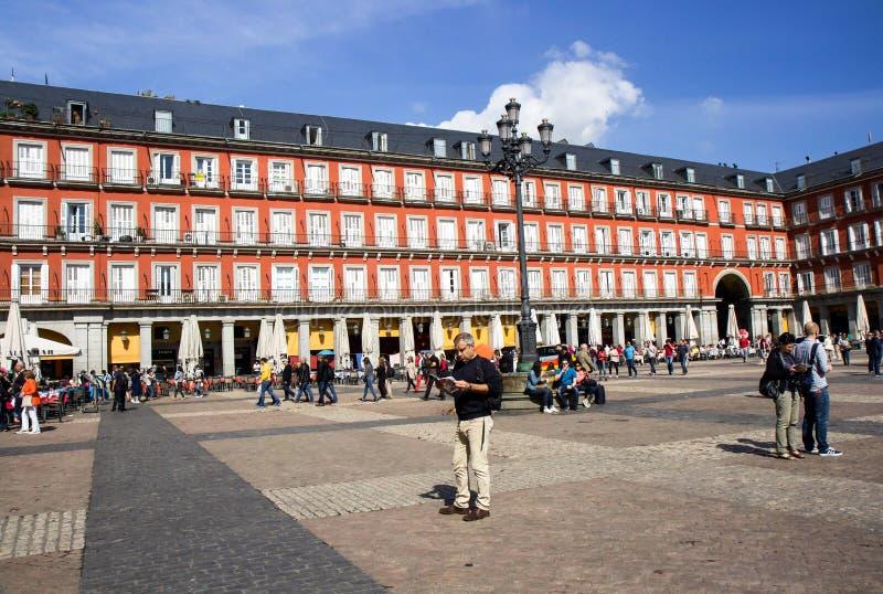 Placu Mayor animacja zdjęcia stock