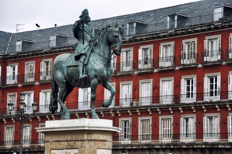 Placu Mayor, Madryt obraz stock