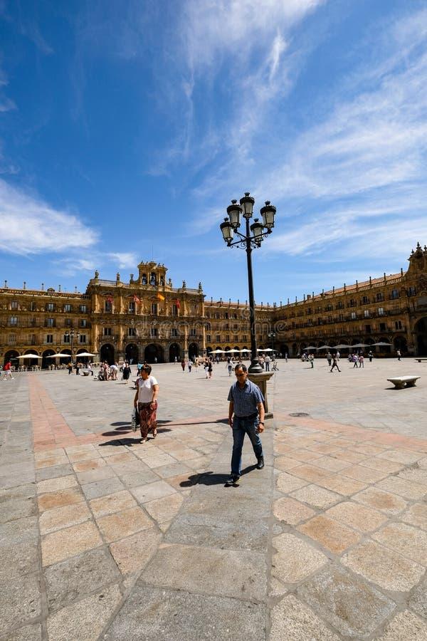 Placu Mayor, Salamanca zdjęcia royalty free