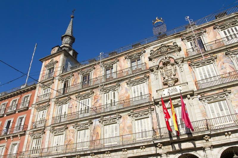 Placu Mayor w Madryt, Hiszpania zdjęcie stock
