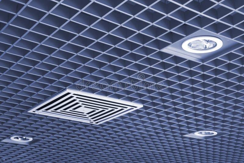 Download Plafond photo stock. Image du rayé, partie, grand, bureau - 8664436
