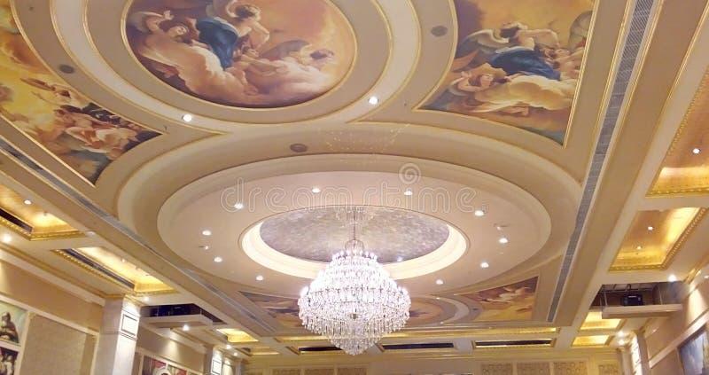 Plafond attrayant photographie stock libre de droits