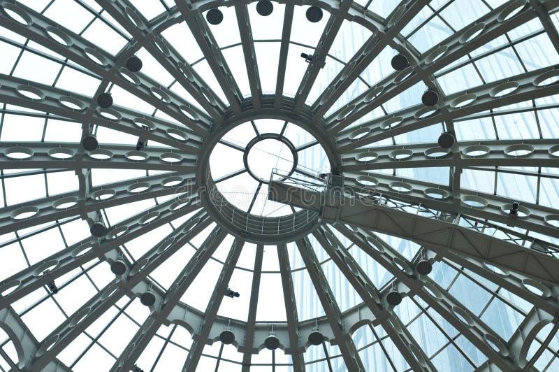 Plafond d'un centre commercial photos stock