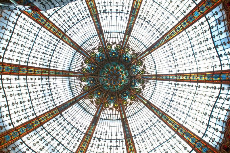 Plafond dans les rampes Lafayette photos libres de droits