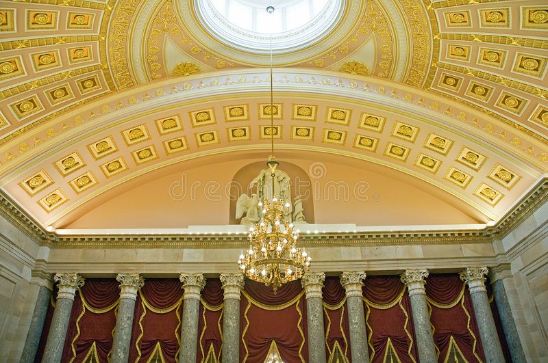 plafond de capitol nous Washington photos stock
