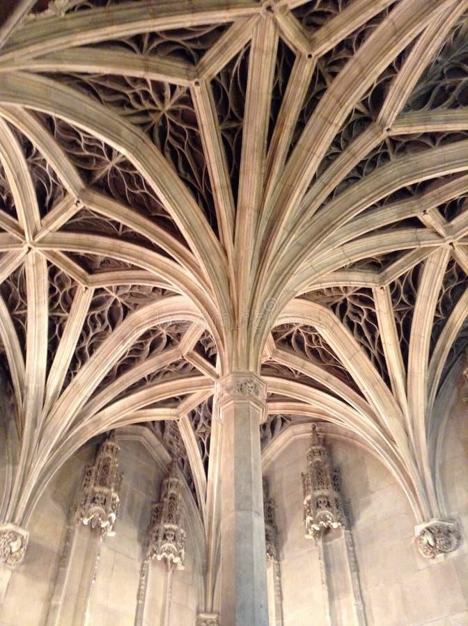 Plafond de chapelle image libre de droits