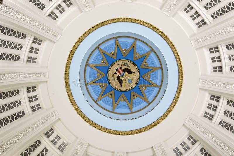 Plafond de la tour photo stock
