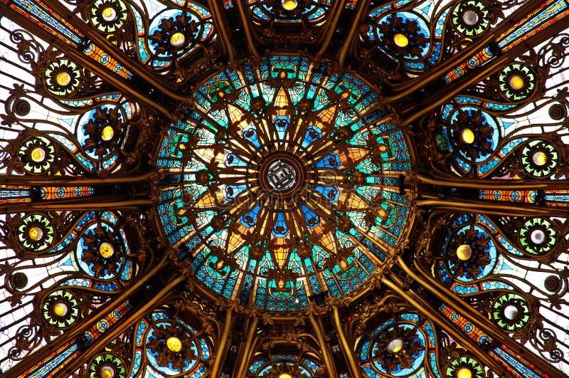 Plafond de Lafayette photographie stock libre de droits