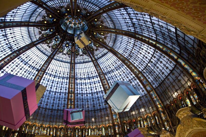 Plafond de Lafayette de galeries image stock