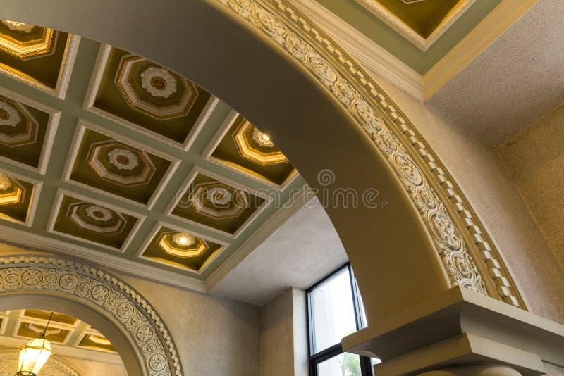 Plafond de luxe photos libres de droits