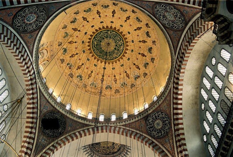 Plafond de mosquée photo libre de droits