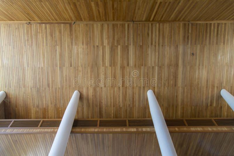 Plafond de teck photos libres de droits