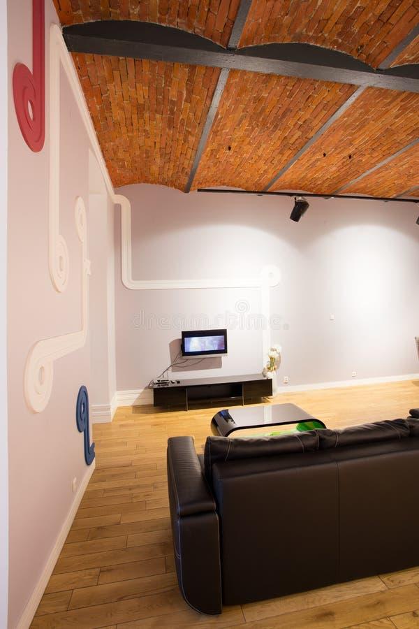 Plafond en bois photo libre de droits