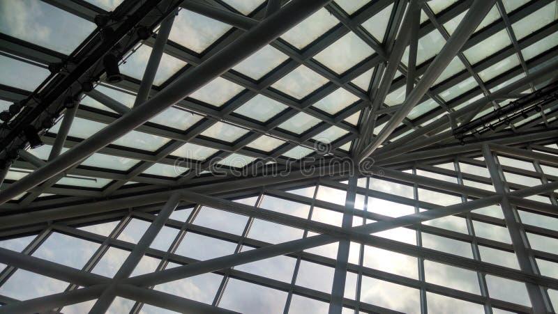 Plafond en verre photos libres de droits