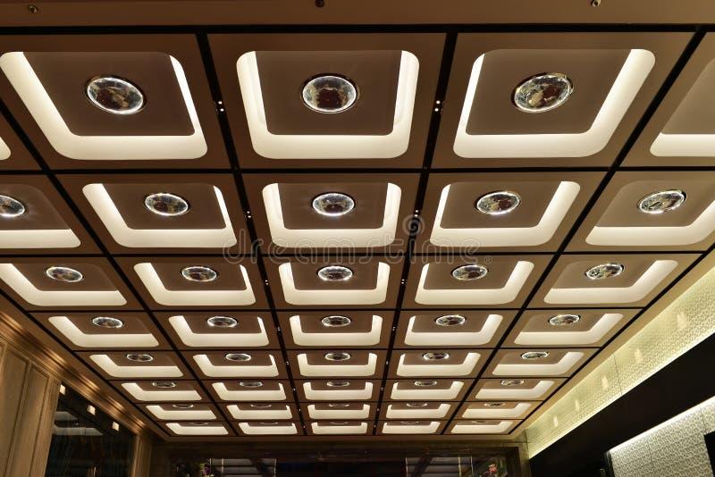 Plafond fleuri image stock