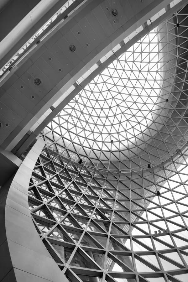 Plafond géométrique photo libre de droits