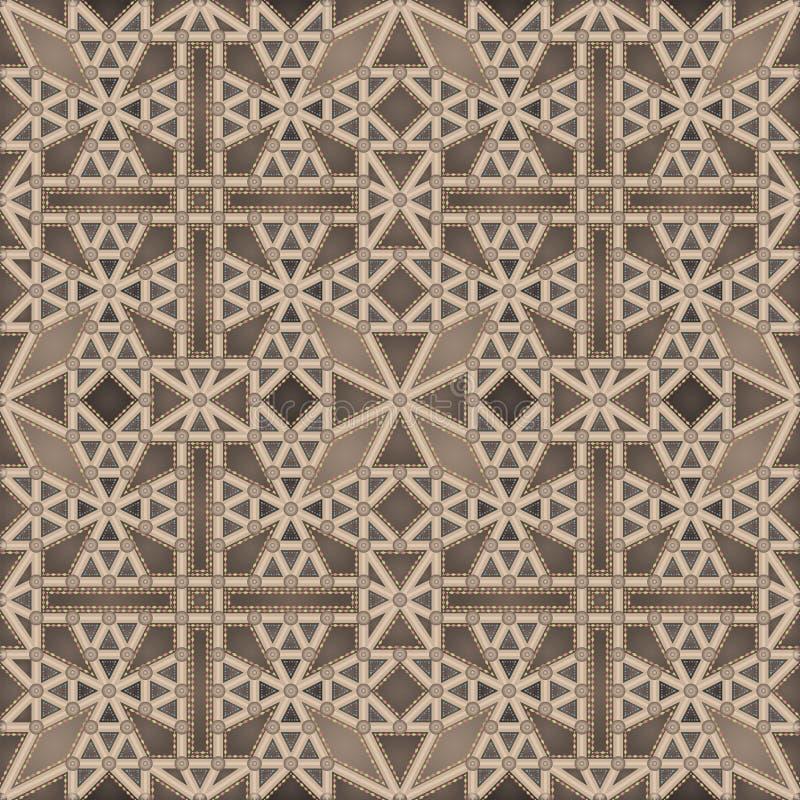 Plafond gothique (configuration sans joint) illustration stock
