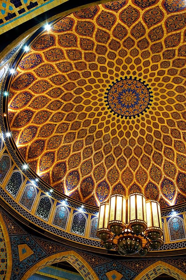 Plafond islamique image stock