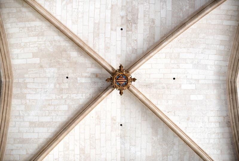 Plafond sauté antique de brique image libre de droits