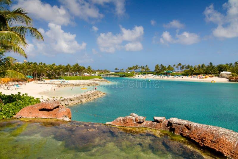Plage à l'île de paradis photographie stock