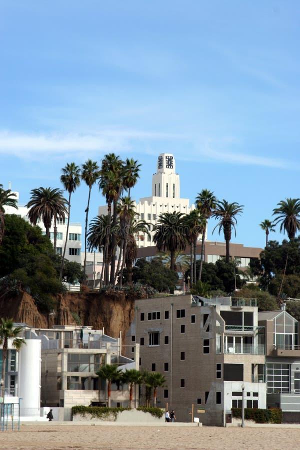 Plage #1 de Santa Monica photos libres de droits