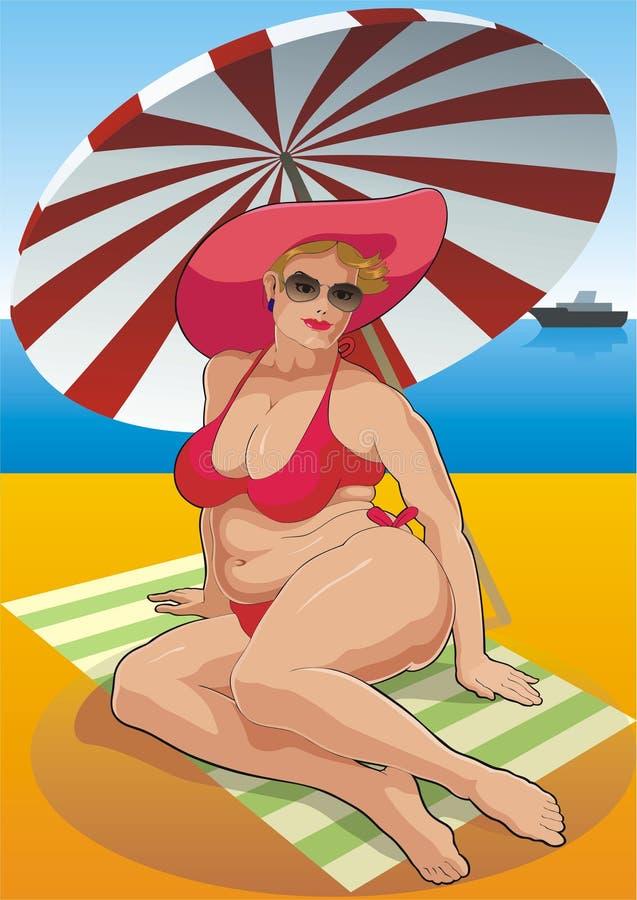 plage illustration libre de droits