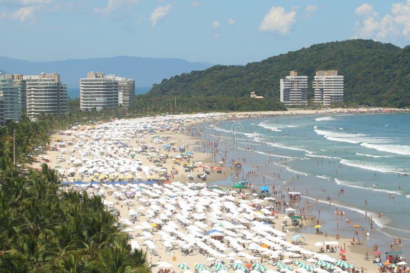 Plage au Brésil image stock