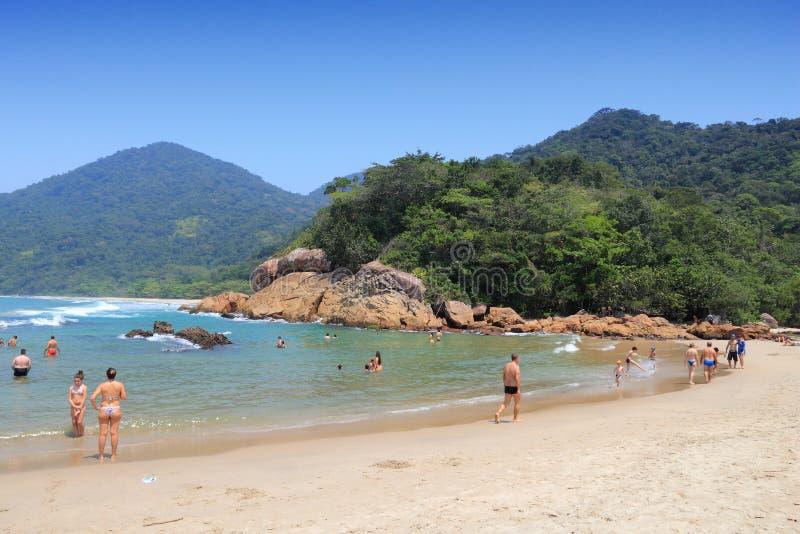 plage Brésil images stock