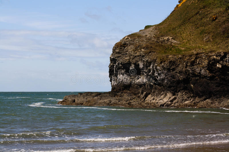 Plage d'Anglesey photos stock
