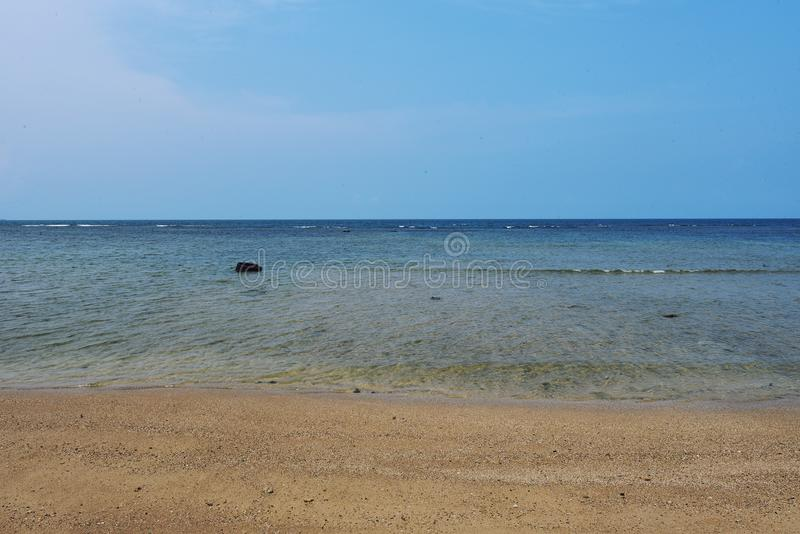 plage d'anyer photos stock