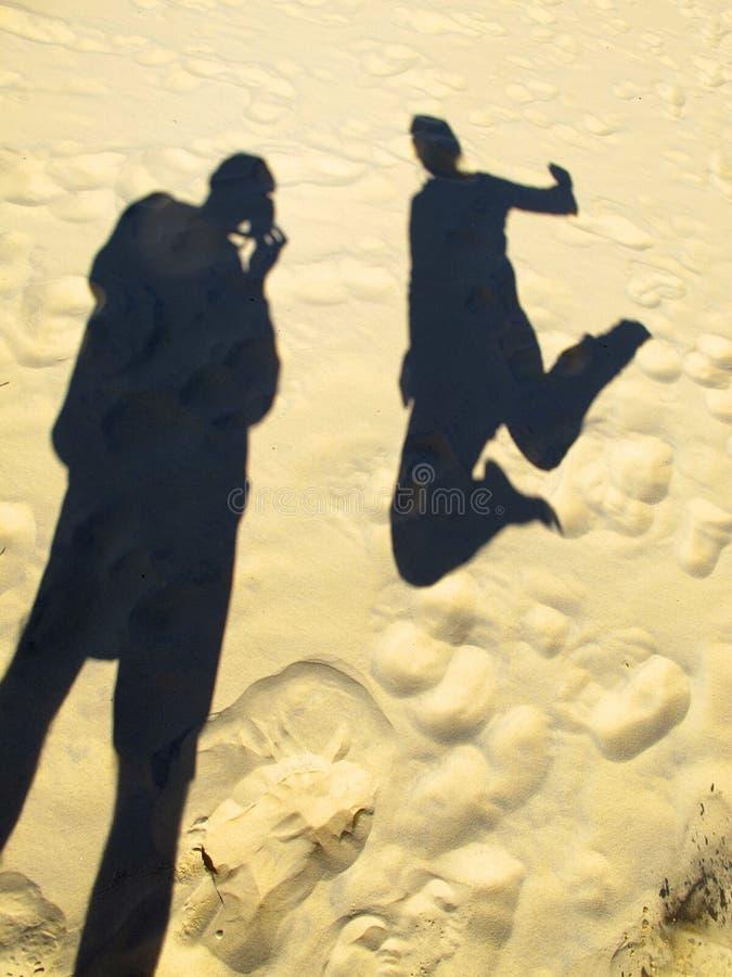 Plage d'arc-en-ciel, Queensland, Australie photo libre de droits