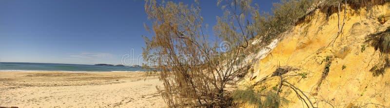 Plage d'arc-en-ciel, Queensland, Australie images libres de droits