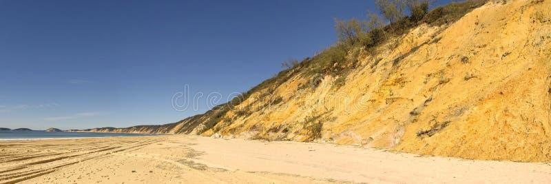 Plage d'arc-en-ciel, Queensland, Australie images stock