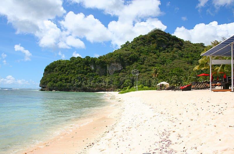 Plage d'arme à feu, Guam photo stock